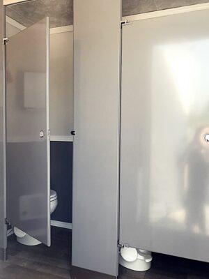 5 Stall Restroom Trailer Ladies | Noah's Ark Port-A-Jons